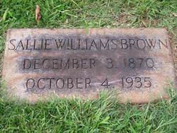 Sallie Williams <i>Johnston</i> Brown