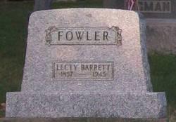 Electa Lecty <i>Barrett</i> Fowler