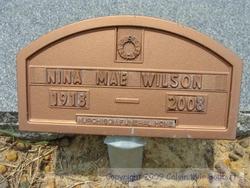 Nina Mae <i>Braddy</i> Wilson