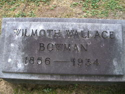 Wilmoth Wallace Bowman