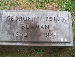 Georgette Ewing Bowman