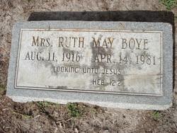 Ruth May Boye