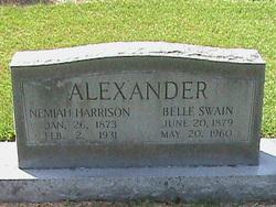 Allie Belle <i>Swain</i> Alexander