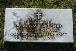 Pvt William Burnsed