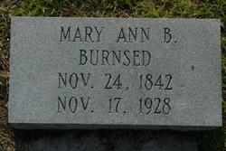 Mary Ann <i>Bacon</i> Burnsed