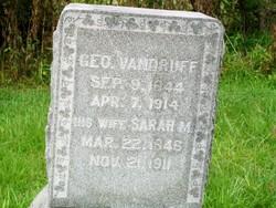 Sarah Mariah <i>Moore</i> Vandruff