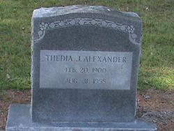 Thedia Jordan Alexander