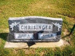 Maud M <i>Mullikin</i> Chrisinger