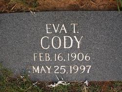 Eva <i>Templin</i> Cody
