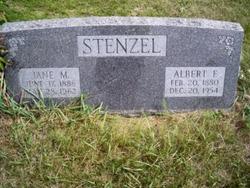 Albert F Stenzel