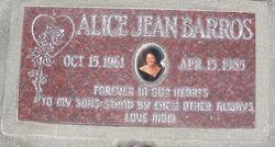 Alice Jean Barros