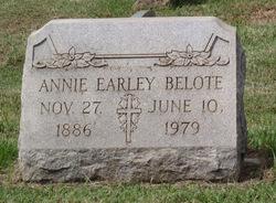 Annie <i>Earley</i> Belote
