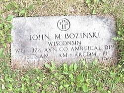 John M Bozinski