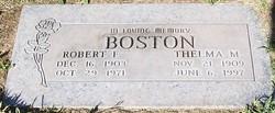 Thelma May <i>Olvey</i> Boston