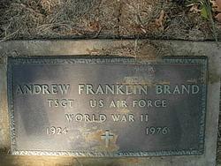 Andrew Franklin Brand