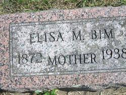 Elisa O. <i>Monger</i> Bim