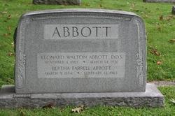 Dr Leonard Walton Abbott