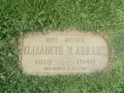 Elizabeth Agnes <i>Wells</i> Abrams