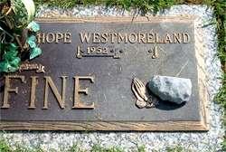 Hope <i>Westmoreland</i> Fine