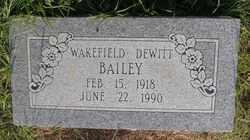 Wakefield Dewitt Bailey