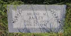 Arlene M Bailey