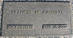 Frances N. <i>Davis</i> Avansino