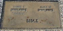 Alice M. Bible