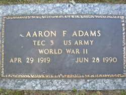 Aaron F Adams