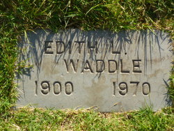 Edith L Waddle