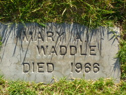 Mary Agnes Waddle