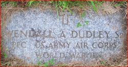 PFC Wendall A. Dudley, Sr