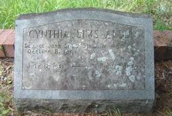 Cynthia <i>Sims</i> Allen
