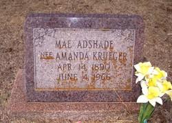Mae Amanda <i>Krueger</i> Adshade