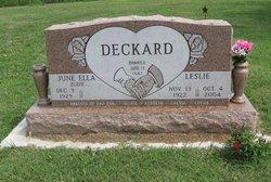 Leslie Deckard