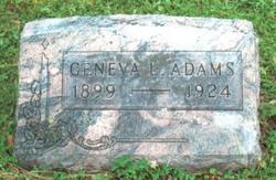 Geneva L. Adams