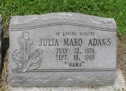Julia <i>Mako</i> Adams