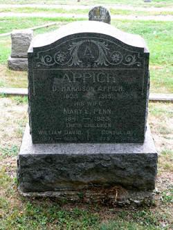 Mary E <i>Penn</i> Appich