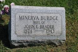 Minerva <i>Burdge</i> Brader