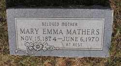 Mary Emma <i>Gipson</i> Mathers