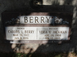 Vera Vee <i>Jackman</i> Berry