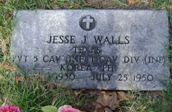Pvt Jesse J Walls