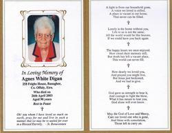 Agnes <i>Murdock</i> White Digan