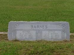 Martha J. Mattie <i>Chamblee</i> Barnes