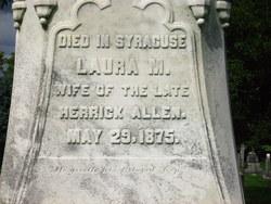 Laura <i>Herrick</i> Allen