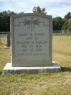 Mary Mildred Nellie <i>Evans</i> Parler