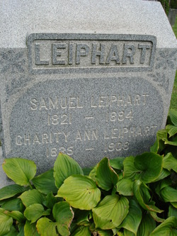 Charity Ann <i>Bennett</i> Leiphart