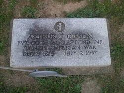 Pvt Arthur F Gibson
