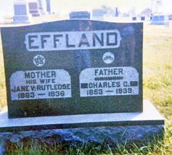 Jane Vashti <i>Rutledge</i> Effland