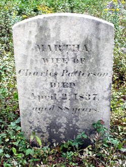 Martha <i>Hall</i> Patterson