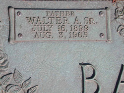 Walter Barth, Sr
